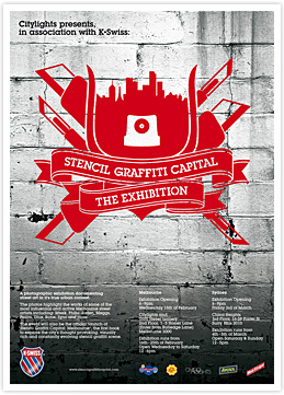 Stencil Graffiti Capital: The Exhibition